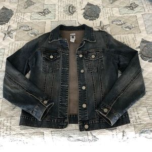 Gap stretchy jean jacket